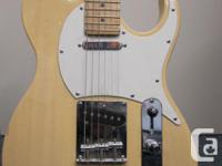 This is a used telecaster style guitar. GTX brand was