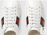 Ace embroidered low top sneakers with Gucci's iconic
