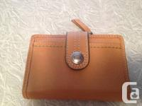 Genuine natural leather FOSSIL budget. New Without
