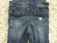 Like new, maybe worn twice. Guess Jeans baby girls