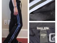 Guess Track Pants - size: small - materials: 100%