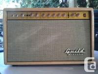 Guild G-500 acoustic amp. Built May '93. Nice sounding