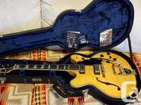 Guild Starfire VI, archtop, semi-hollow. This is a high