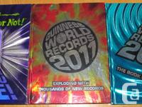 2 Guinness World Records Books and 1 Ripley's Believe
