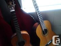 Update:  Smaller guitar only  for sale, the larger one