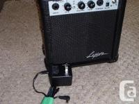 I HAVE A NEW GUITAR AMP 5 WATT PRACTICE. LYON, BY