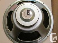 1 X Celestion G12 Seventy 80, 80 watts 16 ohms, comme