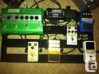 Offering off my guitar pedal rig, and amp. I will