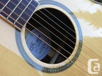 Almost new Fusion WMA guitar for sale. Played a few