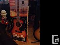 for sale a washburn guitar new in box come with