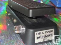 Various Boss , Digitech , Behringer and Ibanez guitar