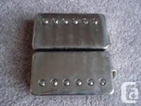 guitar pickups for sale  set of Gotoh chrome covered