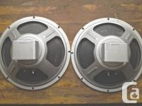 For sale are 4 speakers: - 1 Utah from an early 70's