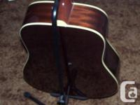 Up for grabs is a YORKVILLE guitar stand. it is in