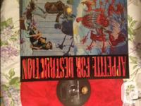 Guns N Roses appetite for destruction LP with the