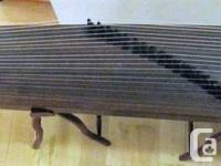 All types of Chinese instruments:  guzheng. guqin,