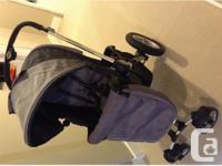 Excellent condition, barely used 102 stroller. Titanium