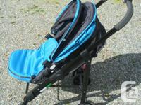 Almost new - used once - high quality stroller complete