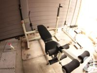 GYM Gear NSP Big Boy Heavy Duty Bench press and squat