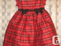 Gymboree Red Holiday Formal Dress  - 4 Toddler