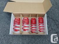 I have a set of lightly used H&R Race Springs.  Lowers