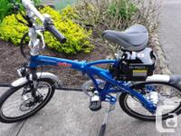 Genlty used 2013 Gio H2 Volt Foldable Electric Bike.