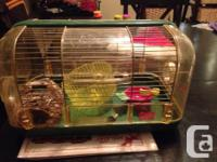 I have a Habitrail Safari hamster cage with the