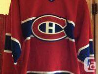 Chandail Canadiens autographié - taille jeunesse