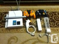 Hi, I'm selling my hacked Wii. You'll be able to play
