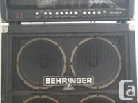 Hi all, I am disappointed to sell this amp. I have no