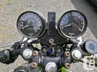 Make Kawasaki Year 1978 kms 74000 After having been