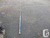 Fishmaster 7 ft. Halibut Fishing Rod. Both in very good