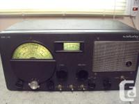 This is a vintage and collectors shortwave receiver