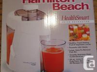 Hamilton Beach 350 watt HealthSmart Juice Extractor