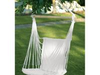 Cotton cushioned swing chair. Pursues 200 pounds. 38 x