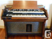 This Hammond A-105 and Leslie 122 are working 100%.