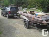 bowrider with 470 merc inboard motor ready to run with