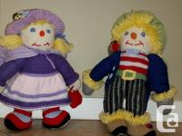 So sweet! Boy and girl. Brand new condition. A