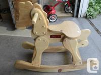 GRAMPA MADE THIS ROCKER FOR GRANDCHILDS FIST