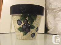 These made in Italy terra cotta pots have been hand