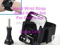 Hand Wrist Strap Band Holder Mount Set For GoPro Hero 1