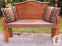 This Handcrafted Distinctive Queen Bench will certainly