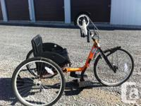 Available is an Invacare Leading End Excelerator XCL