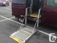 $8900 or best offer. Handicap Van, Second Owner,great