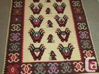 Hand made KILIM (beautiful with nice color),  Condition