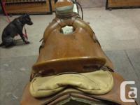Handmade swade tree western saddle. In exellent
