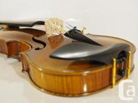 """This is a brand new violin from older stock of """"Muses"""