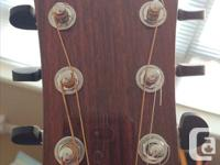 D84SW Hand Made in USA at the Washburn Custom Shop: AAA