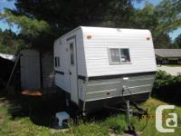 This camper was used for transportation (workplace) but