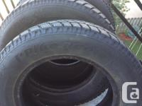 "4 Hankook 14"" Ipike winter tires for sale. (175/R 70)"